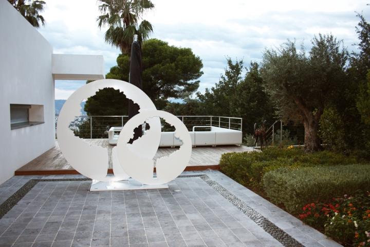 Sculture moderne e di design per giardini imperiali - Giardino moderno design ...